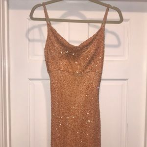 Beautiful beaded gown by Scala size M